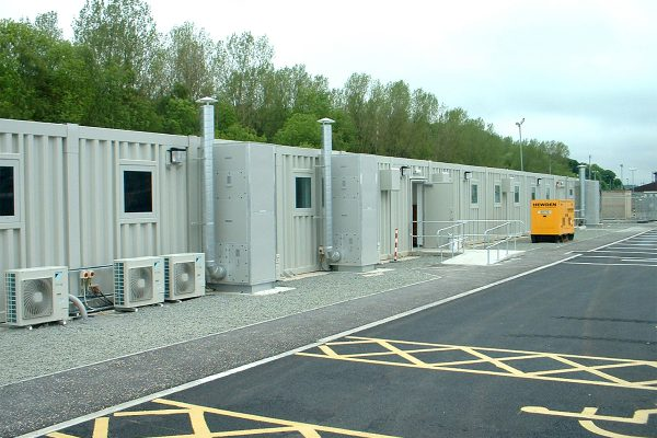Blast resistant modular buildings by Space Projects