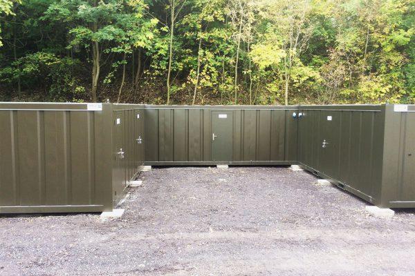 Secure modular building