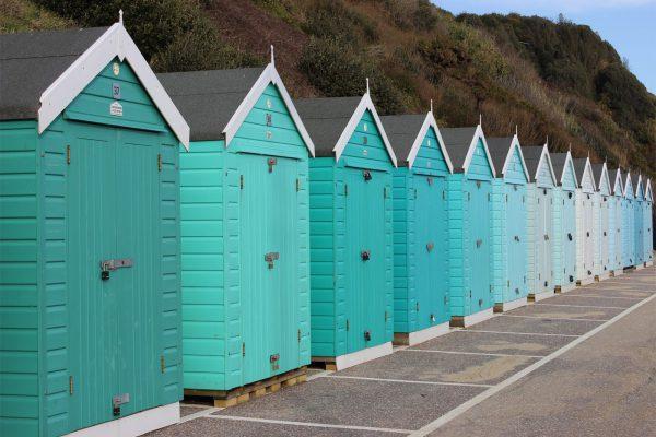 Beach hut modular buildings