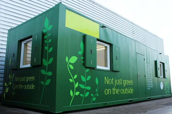 Eco-friendly modular building by Space Projects