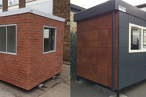 Modular building gate houses